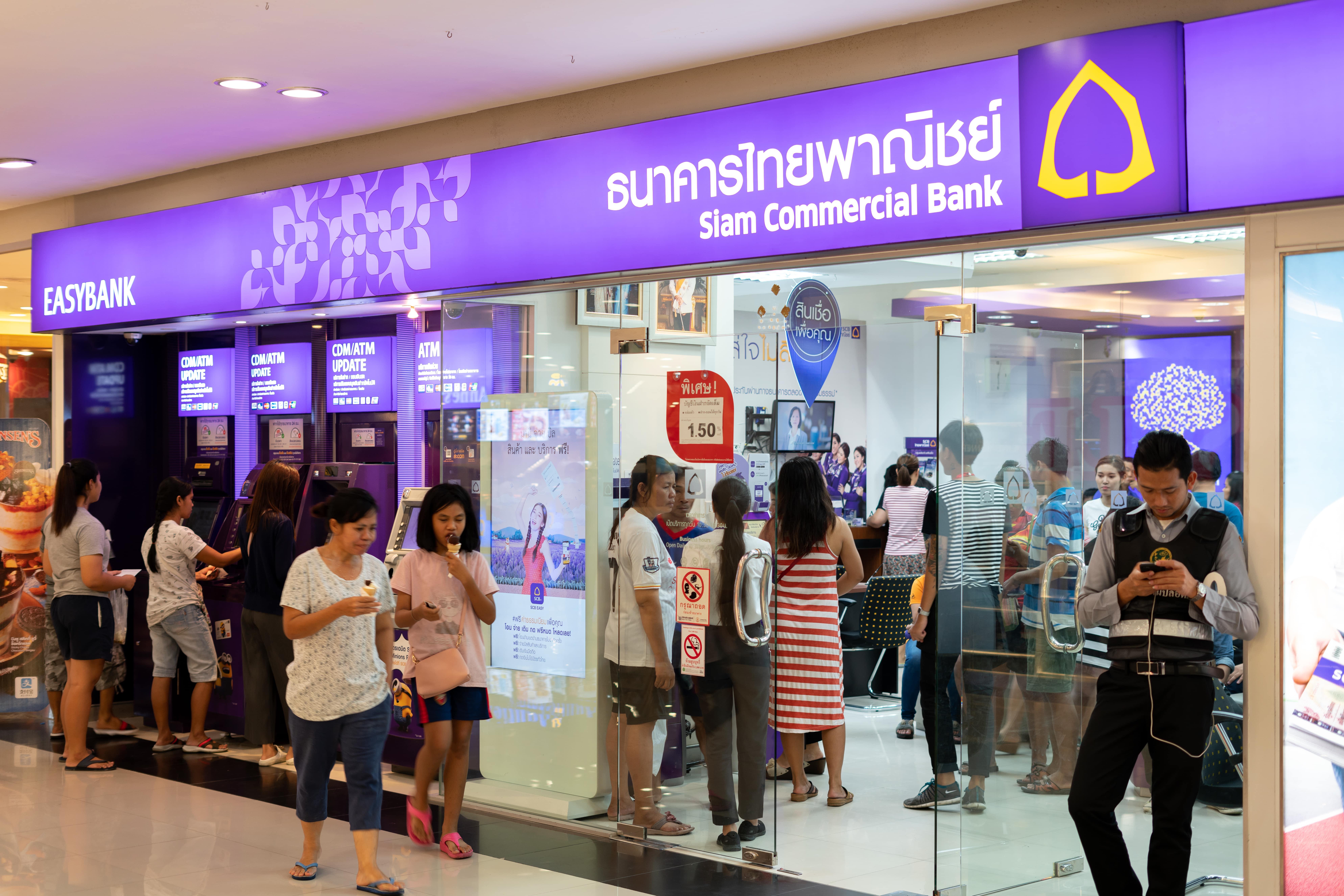 Siam Commercial Bank vertraut Surecomp