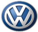 The logo of Volkswagon