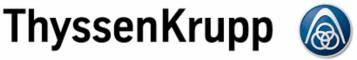 The logo of ThyssenKrupp