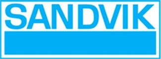 The logo of Sandvik