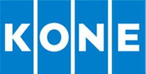 The logo of KONE