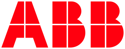 The logo of ABB