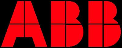 The logo of ABB