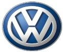 The logo of Volkswagon